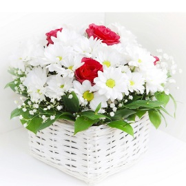 Basket Full of  Warm Wishes
