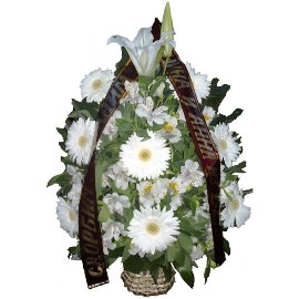 Modern Funeral Basket