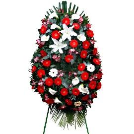Ավանդական սգո ծաղկեպսակ