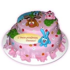 Cake Smeshariki