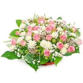 Joyful Bloom Basket