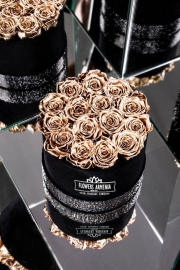 Golden Roses in a Box