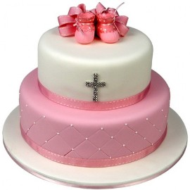 Christening Cake for girl