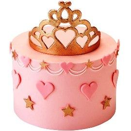 Tiara Tiers Cake