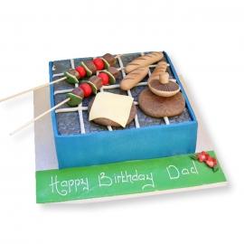 Birthday Cakes - BBQ cake