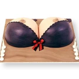Bra Shaped Cake