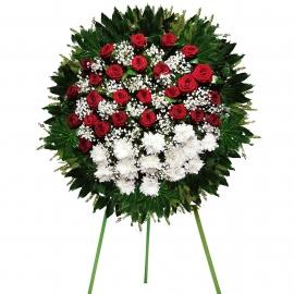 Floral Sentiments Wreath