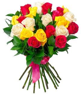 21 Գունավոր Վարդեր