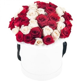 Graceful Roses in a Box