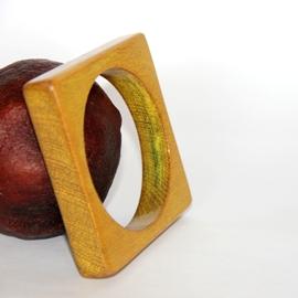 Yellow Square Bracelet
