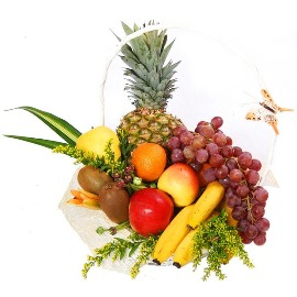 Basket of Sunny Fruits