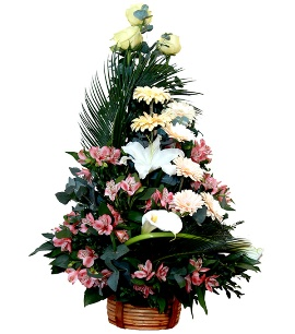 Modern Floral Tree