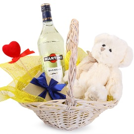 Happy Gift Basket