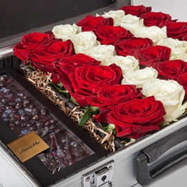 Case of Roses and Chocolates
