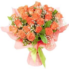 27 Персиковых Роз