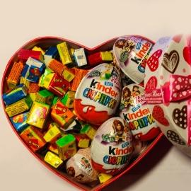 Love is մաստակ և Kinder շոկոլադ