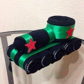 Tank from Socks