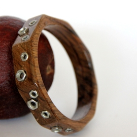 Dark Wood Bangle
