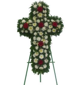 Сочувственный Венок в Форме Креста