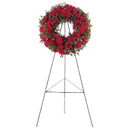 Hope and Honor Funeral Wreath