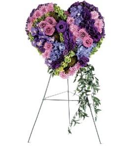 Բնական ծաղիկներով ծաղկեպսակ