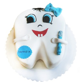 Happy Tooth Cake