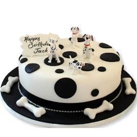 Далматиновый тортик