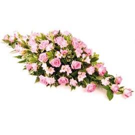 Розовая Надгробная Композиция