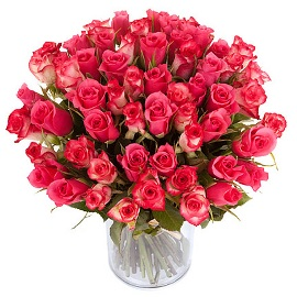 Glamorous Bouquet of Pink Roses
