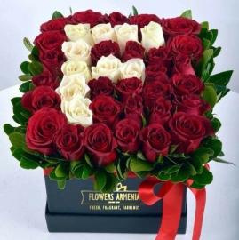 Name rose box