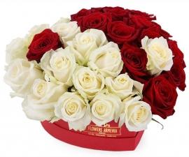 Flower box « Love Heart»