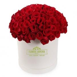 Цветочная коробка «Для моей любимой»