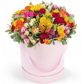 55 Ծաղիկներով Հրաշալի Ծաղկետուփ
