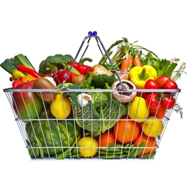 Colorful Vegetable Basket