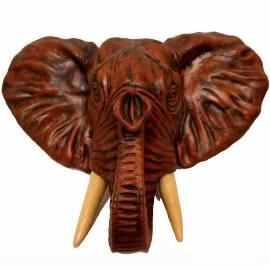 Red Mahogany Elephant