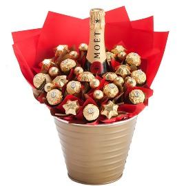 Шоколадный букет и Шампанское