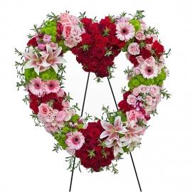 Bright Floral Hearth Spray