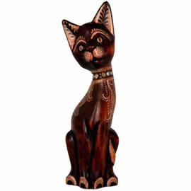 Gracious Cat of Wood