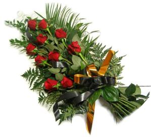 Condolence Bouquet of Roses
