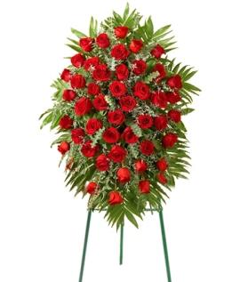 120 վարդով ծաղկեպսակ