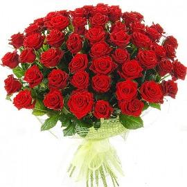77 Прелестных Красных Роз
