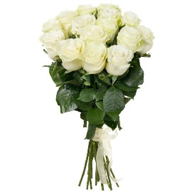 White Luxurious  Roses